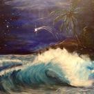 Laurent Mora Art work last night wave