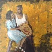 """Laurent Mora Artwork """"Fernand and Lucienne"""""""