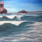 Laurent Mora Art work Collioure