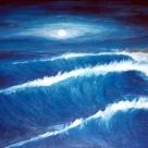 Laurent Mora Art work Night wave