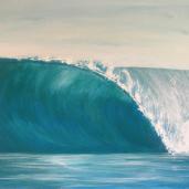 Laurent Mora artwork Wave right